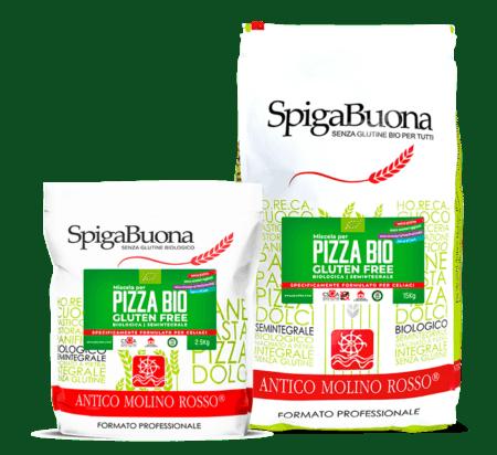 Miscela per pizza senza glutine Spigabuona 9