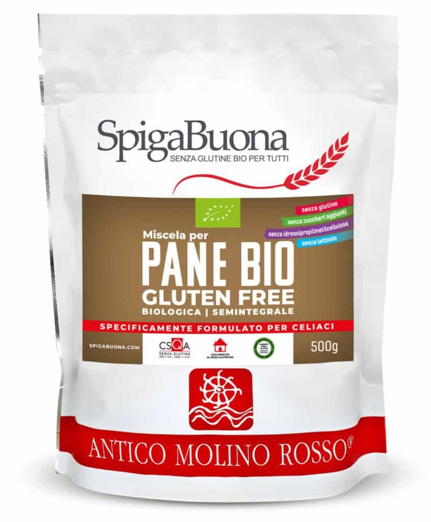 miscela di farine senza glutine per produrre pane gluten free