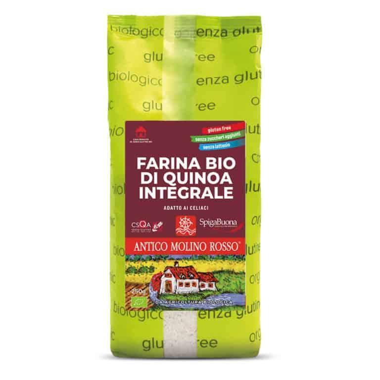 farina di quinoa biologica senza glutine