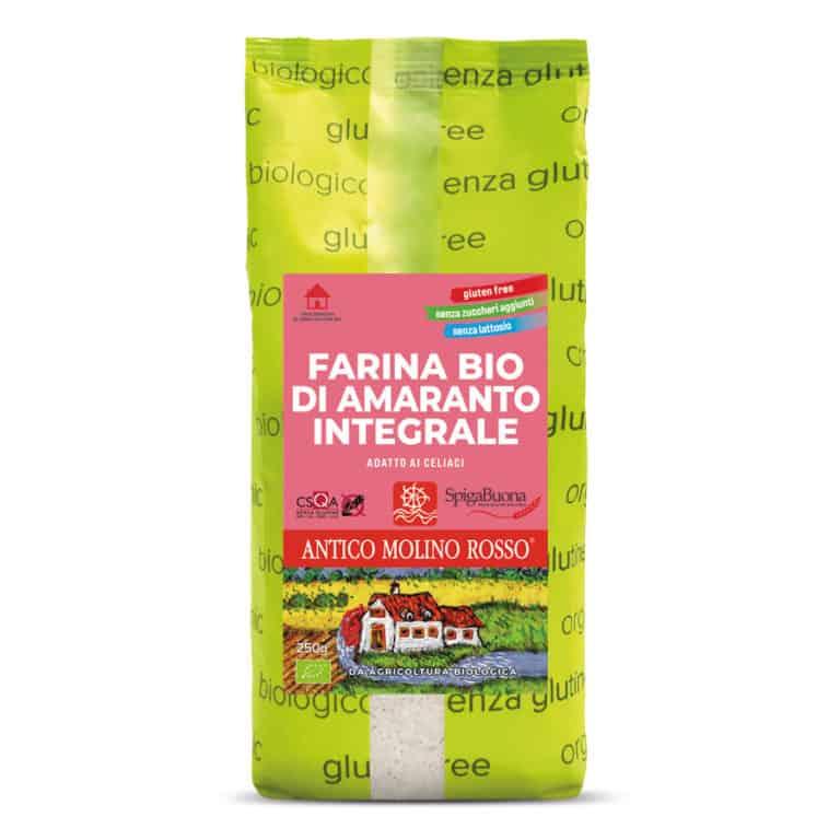 farina di amaranto  biologica senza glutine