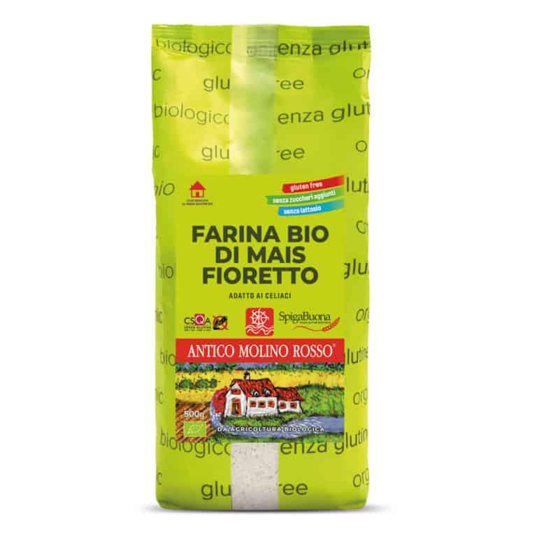 farina di mais fioretto  biologica senza glutine