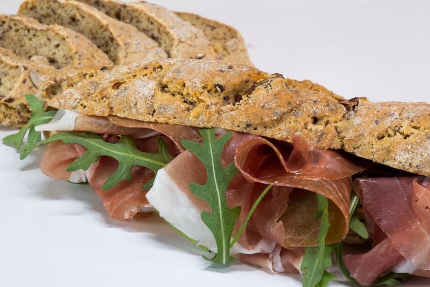 Frustine di pane senza glutine