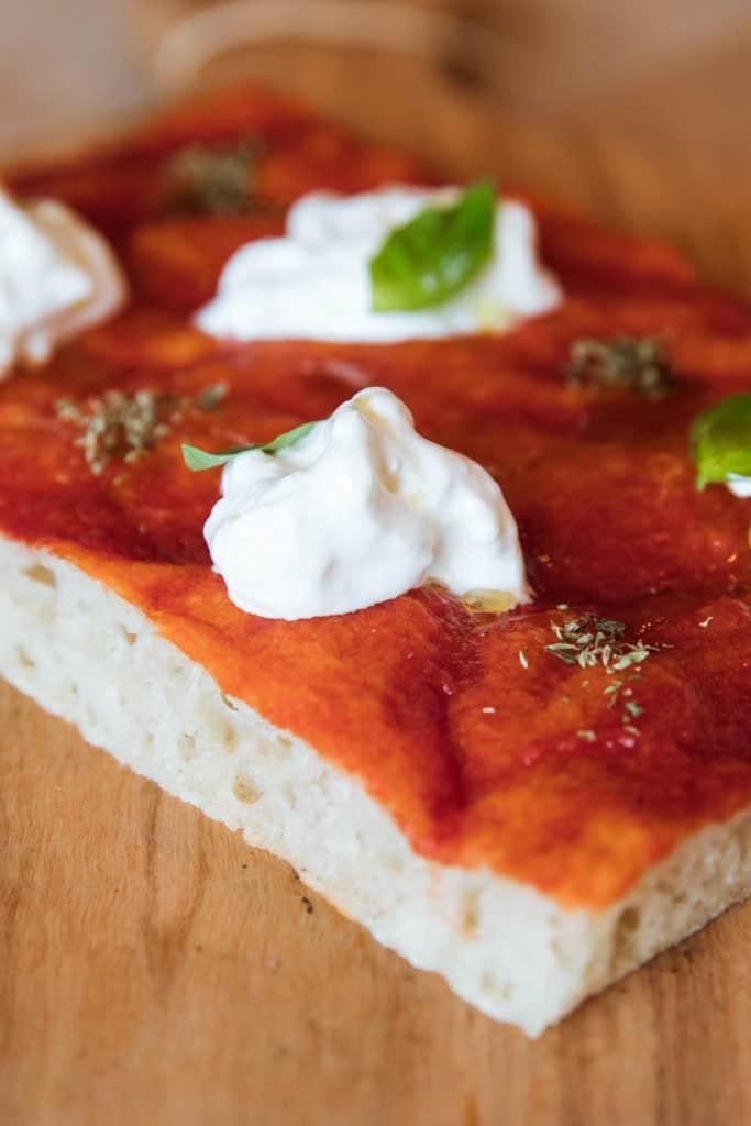 ricetta pizza in teglia senza glutine bio