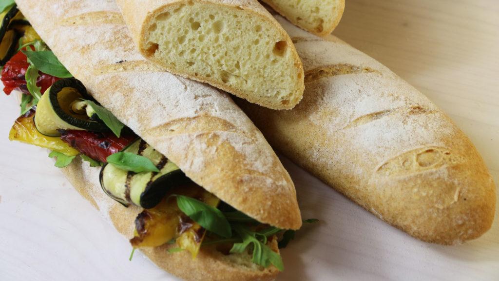 pane fatto a frustine senza glutine