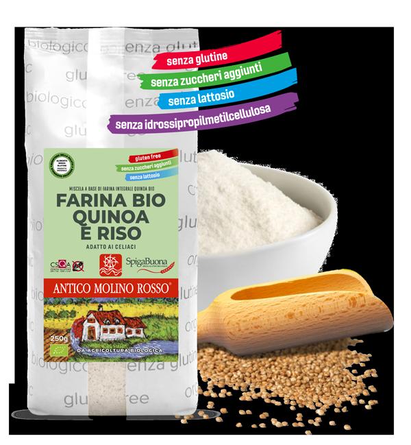 Miscela per pane senza glutine Spigabuona 9
